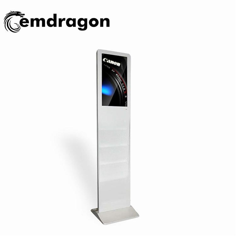AD Player 3D คู่ด้าน Digital signage 32 นิ้ว Ultra Slim คู่ด้านสีกันน้ำ LED แสดงโฆษณา