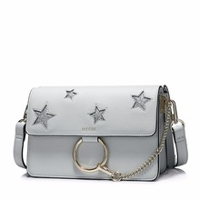 NUCELLE PU Leather stylish women handbag with star design