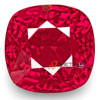 12.55 Carat Rare Unheated Eye-Clean Fiery Pinkish Red Mozambique Cushion cut Ruby buy online in Italy
