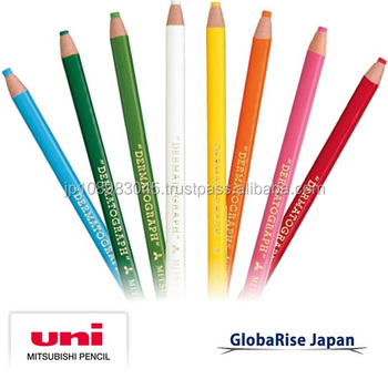 Mitsubishi Uni Rainbow Dermatograph made in Japan mitsubishi pencil