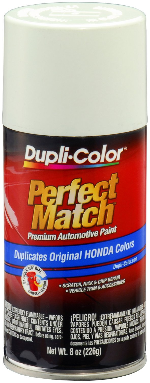 Dupli-Color EBHA09787 Taffeta White Honda Perfect Match Automotive Paint - 8 oz. Aerosol