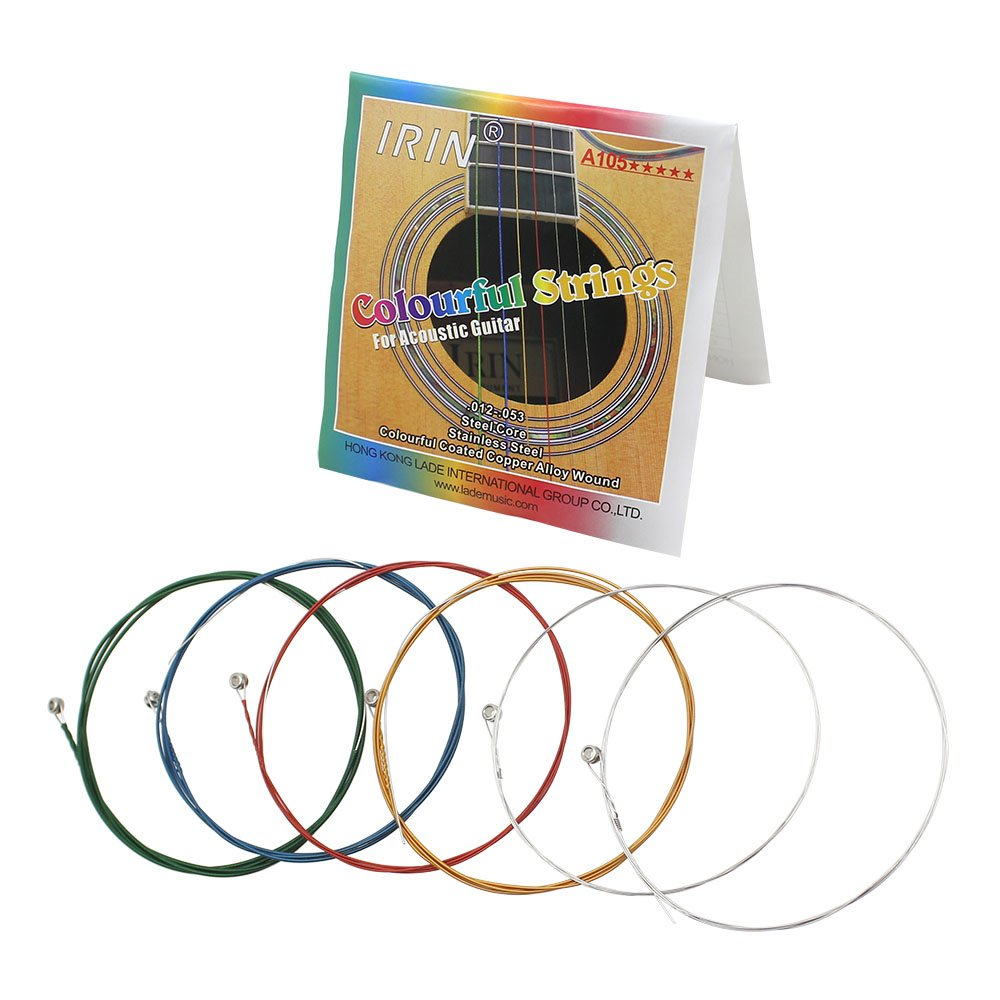 Acoustic Guitar Strings for Guitar Players, Perfect Gift Idea for Music Lovers, Stainless Steel Wire Strings