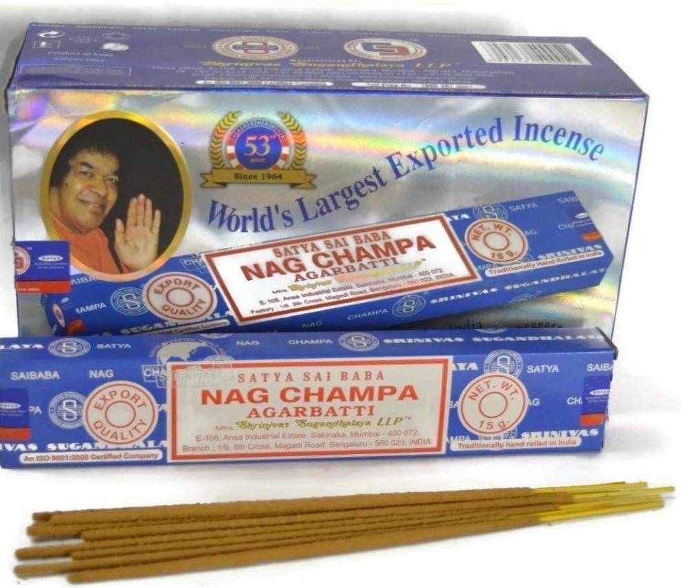 Satya Sai Baba Nag Champa Incense Stick Agarbatti Hand Made Uk Wholesale Buy Handcraft Incense Hand Rolled India Nag Chamba Product On Alibaba Com