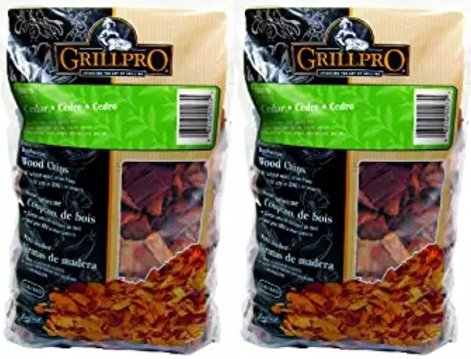 GrillPro 00275 Cedar Wood Chips (2 Pack)