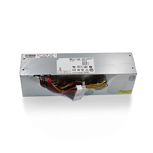 Mackertop 240W Desktop Power Supply Unit PSU Replacement for DELL OptiPlex 390 790 960 990 7010 9010 Small Form Factor SFF Systems H240AS-00 AC240AS-00 L240AS-00 AC240ES-00 H240ES-00 Series