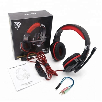 2018 EasySMX G9000 professional pc stereo gaming headset with led light