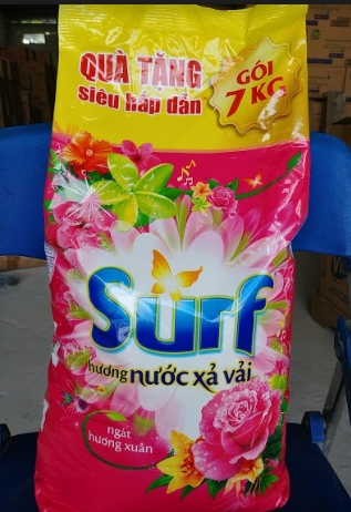 Surf Glamor Perfume Detergent Powder, Surf washing powder, Surf detergent