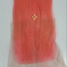 Wholesale Price From Asa Hair Straight Lace Closure Pink Color Remy Hair 100% Human Hair Extension