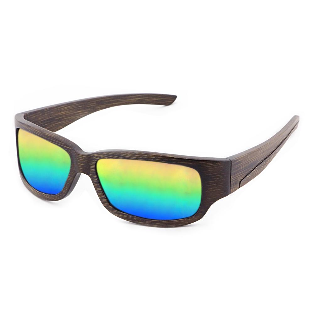 72c0dd7fa73ae Com Lentes Logotipo Personalizado Colorido Óculos de Sol De Bambu De  Madeira óculos de Sol Dos