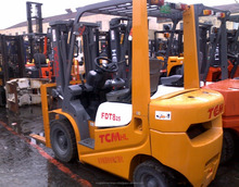 Good quality used 2.5 ton TCM forklift for sale/ TCM forklift with low price