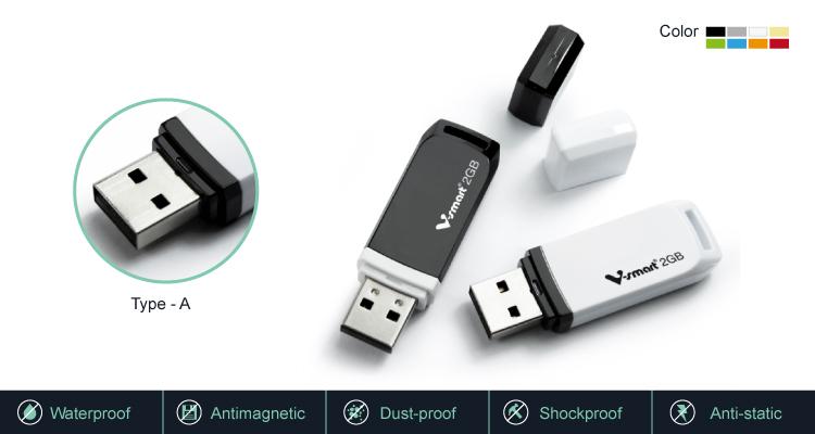 नवीनतम डिजिटल यूएसबी पेन ड्राइव डिस्क प्लास्टिक के मामले के साथ