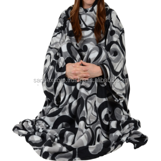 tv blanket with sleeves