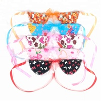 Dog Grooming Cat Striped Bow Tie Animal Bowtie Collar Pet Adjustable Neck Colorful Necktie For Party made in Vietnam