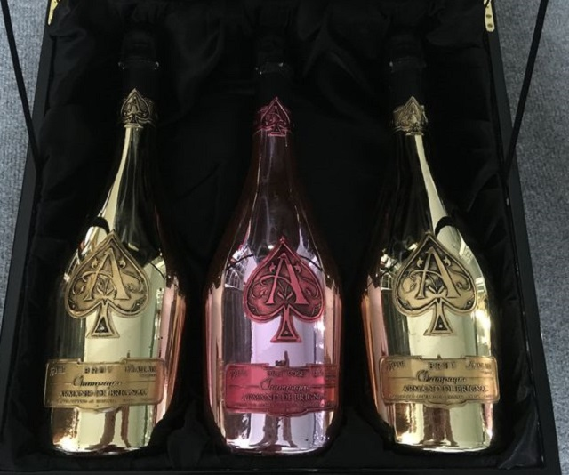Champagne Ace Of Spades Armand De Brignac Rose Available