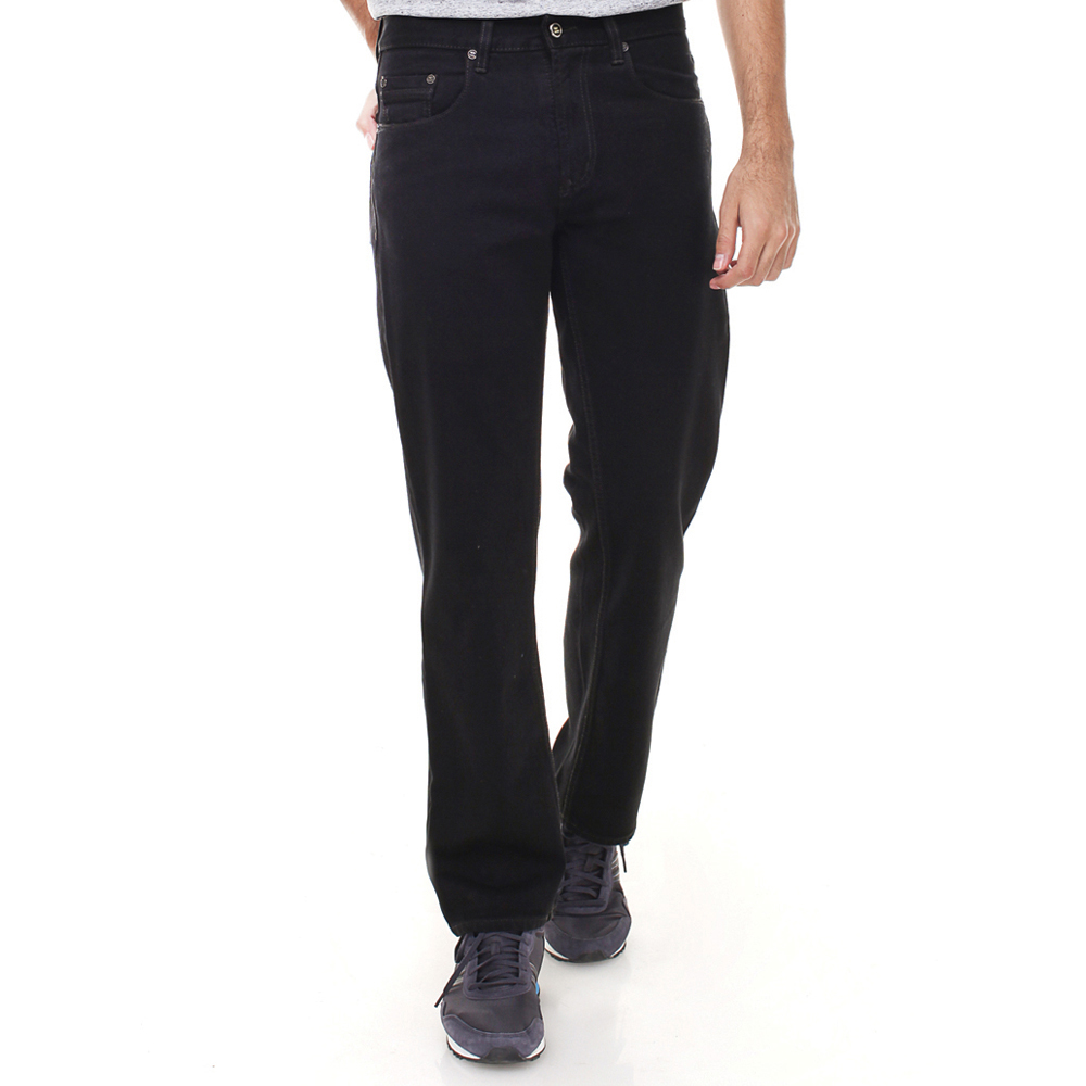 Jeans Regular Fit Classic Five Pockets - Black
