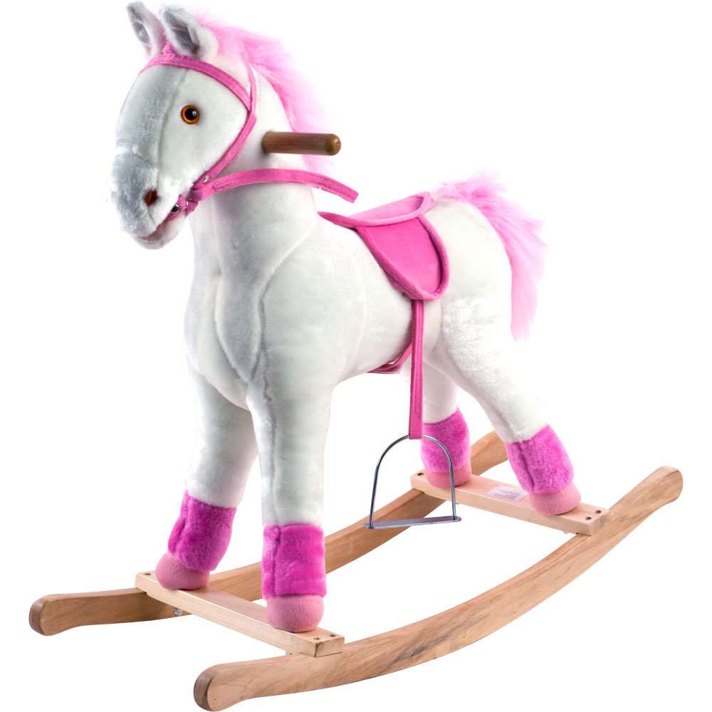 Happy Trails Plush Rocking Patricia Pony Ride On