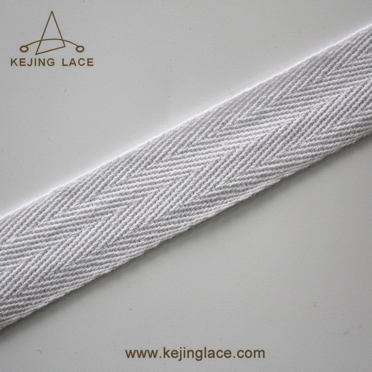 Popular Herringbone Twill Webbing Tape For Garments,Home Deco.