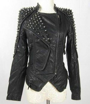 Motor Bike Leather Jackets For Women - Buy Cheap Leather Jackets ...