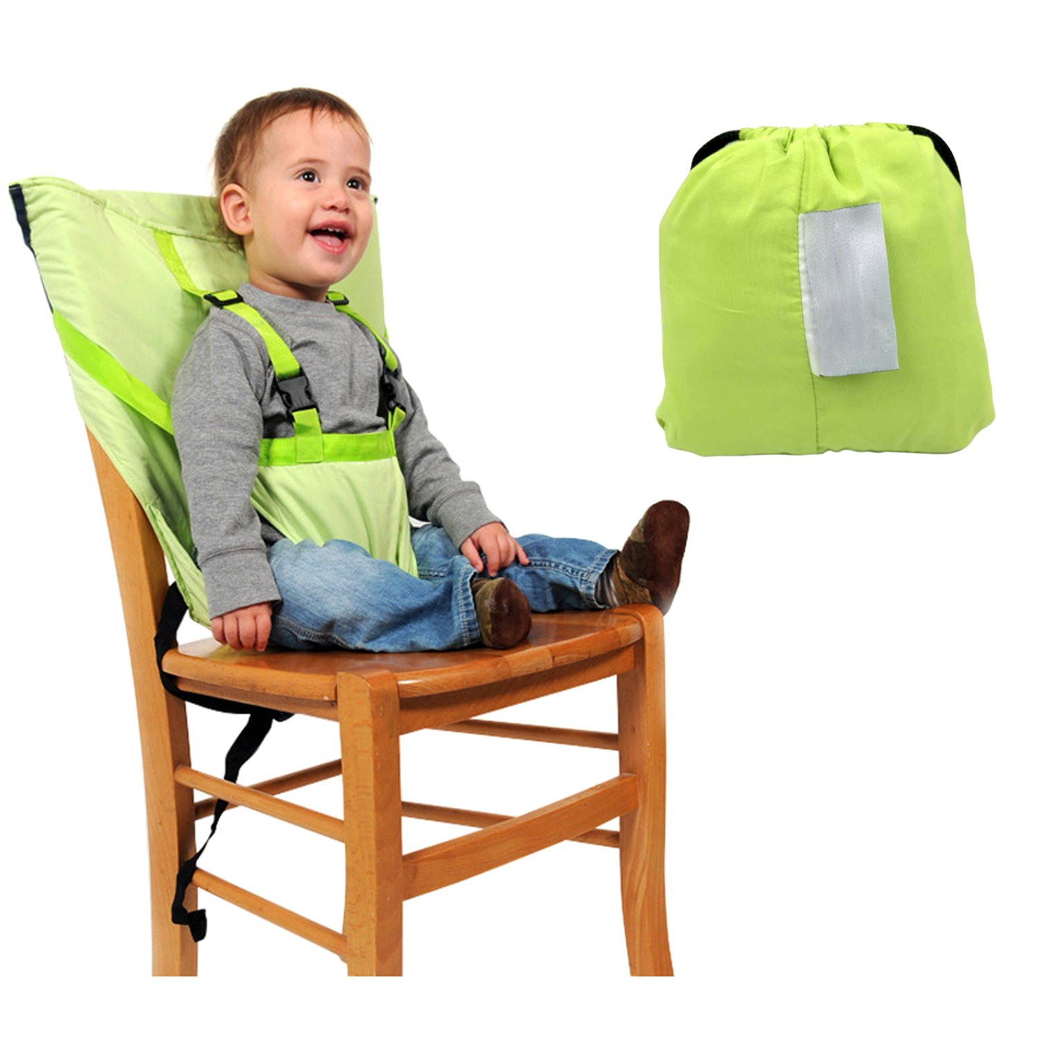 Pink Portable Baby Feeding Chair Belt Toddler Safety Harness Baby