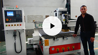 Forsun CNC affordable 5 axis cnc router 4 axis 3d mold making wood cnc milling machine price