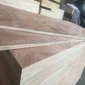 Commercial plywood from Vietnam manufacturer 1220 x 2440 mm,Glue MR/E2/Melamine