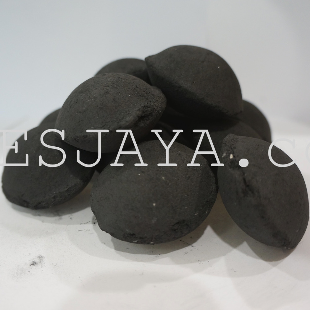 Pillow Coconut Barbecue Briquette Charcoal