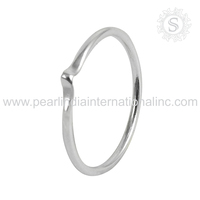 Persevering plain silver jewelry 925 sterling silver ring manufacturer wholesale price jewelry india