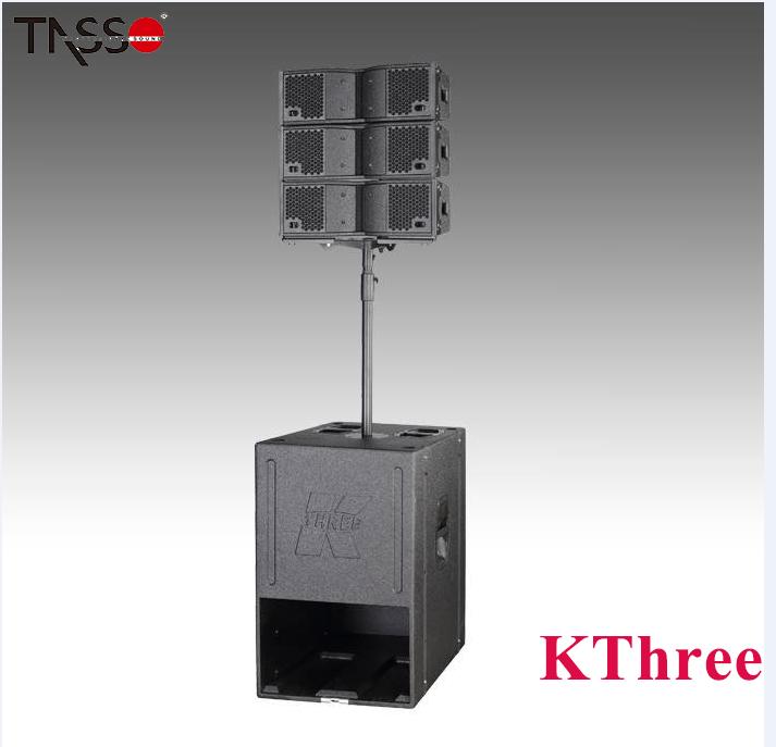 Active professional กลางแจ้งหรือในร่มเวที line array ลำโพงระบบสำหรับ KF212