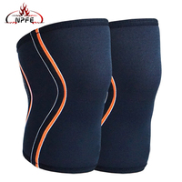 Hot Knee Sleeves Support & Compression 7mm Neoprene Sleeve Brace