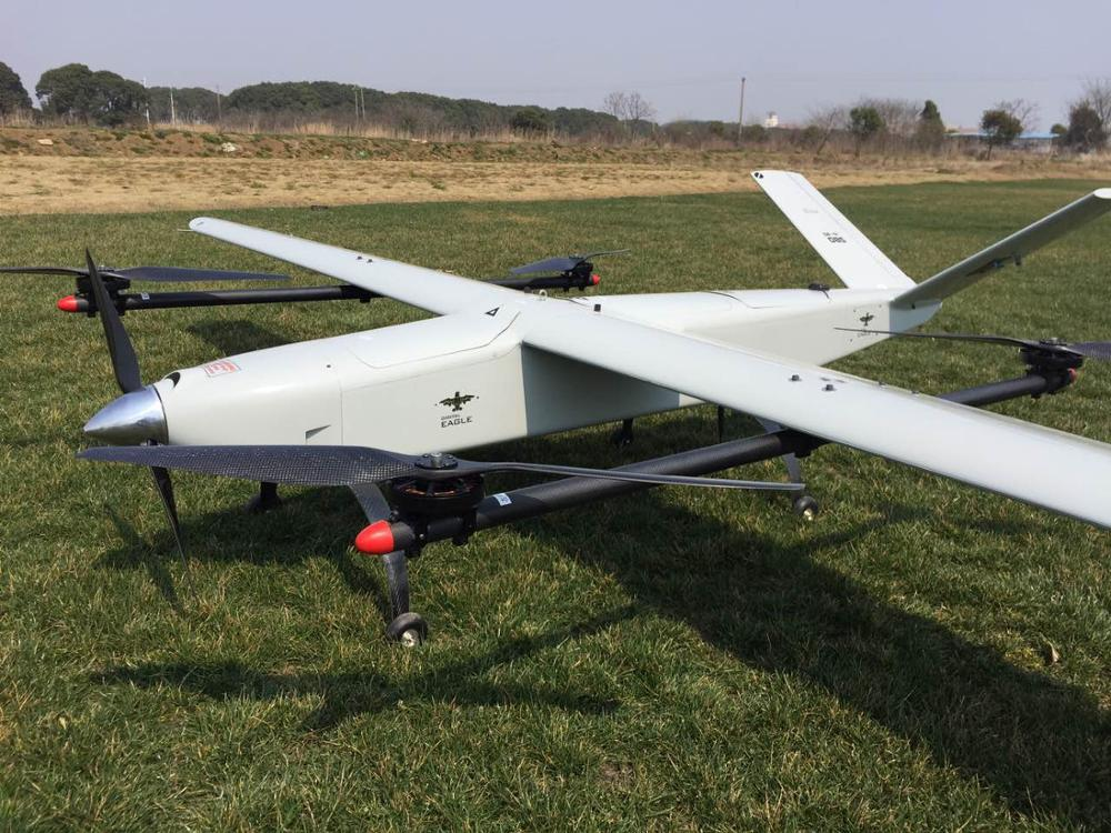 Fixed Wing Uav Surveillance Vtol Drone Rc Gas Helicopter Drones With Hd Camera And Gps