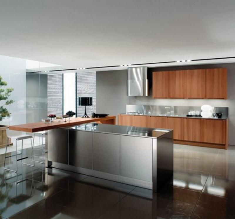 Модульный шкаф дизайн Нержавеющаясталь Кухня Кабинета kitchen cabinet-41.jpg