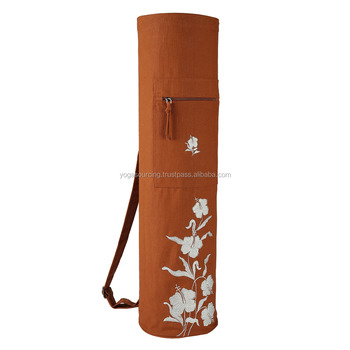 Indian Wholesale Manufacturer Price Yoga Mat bag with custom logo