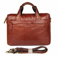 Men Business Laptop Leather Bag