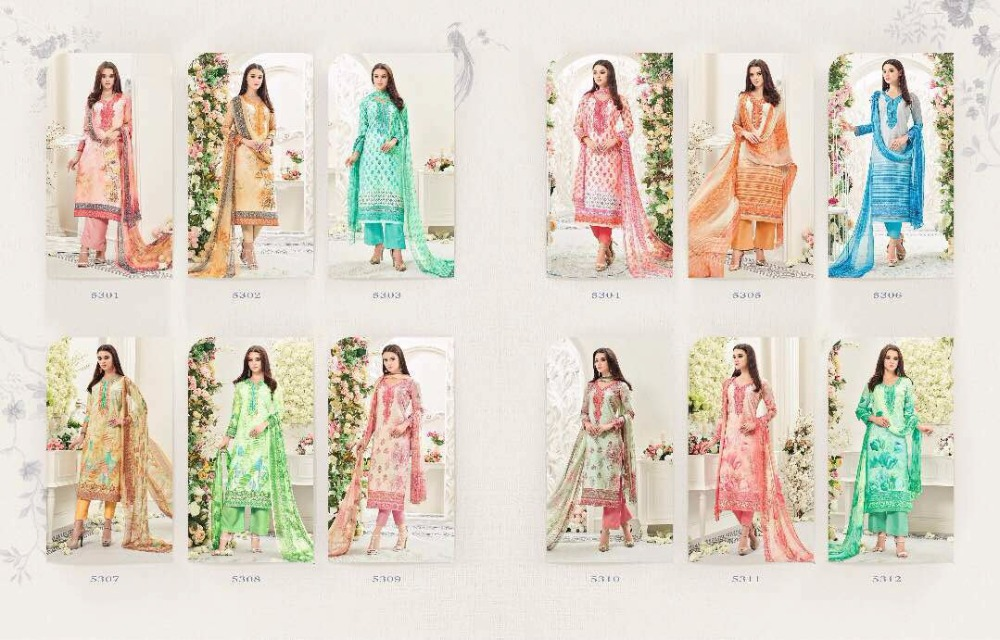 Glossy Simar Orignal Pure Lawn Cotton Digital Printed Unstitched Salwa Kameez Suit Indian And Pakistani Fashion