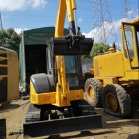 Japan Original Used Komatsu PC55 Excavator Mini Excavator Small