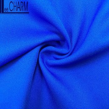 LCL187 Cheap Polyester Pure Satin Crepe Fabric Dress Material