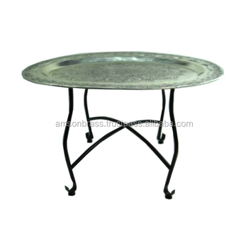 Metal Moroccan Authentic Coffee Table