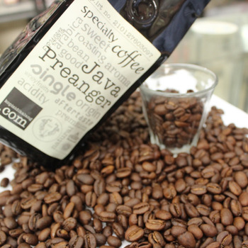 freschezza del chicco di caffè verde