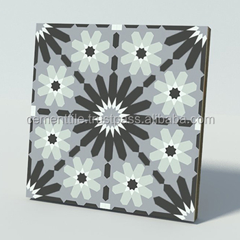 CTS 45.1 Encaustic cement tile made in Vietnam high quality export to USA
