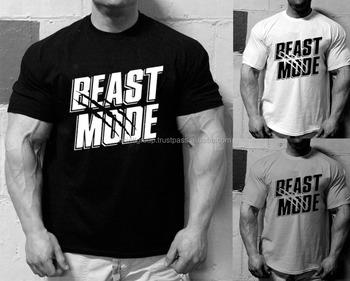 Mens Beast Mode T Shirt Gym Motivation Bodybuilding Workout Training Mma Ufc T Shirt Im 3329 Buy Men Gym Fitess Mma Tshirt Product On Alibaba Com