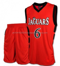 Basketball Uniform with Sublimation & Tackle twill