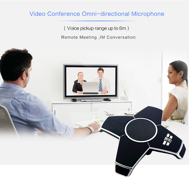 TEVO-A6-T Expansion microphones usb conference best  speaker for conference calls