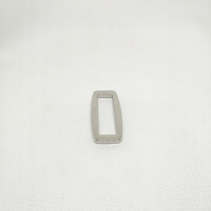 tri-glide metal metal square ring buckle tri-glide 5/8 triglide slides 5/8 square rings heavy duty flat metal slide buckle
