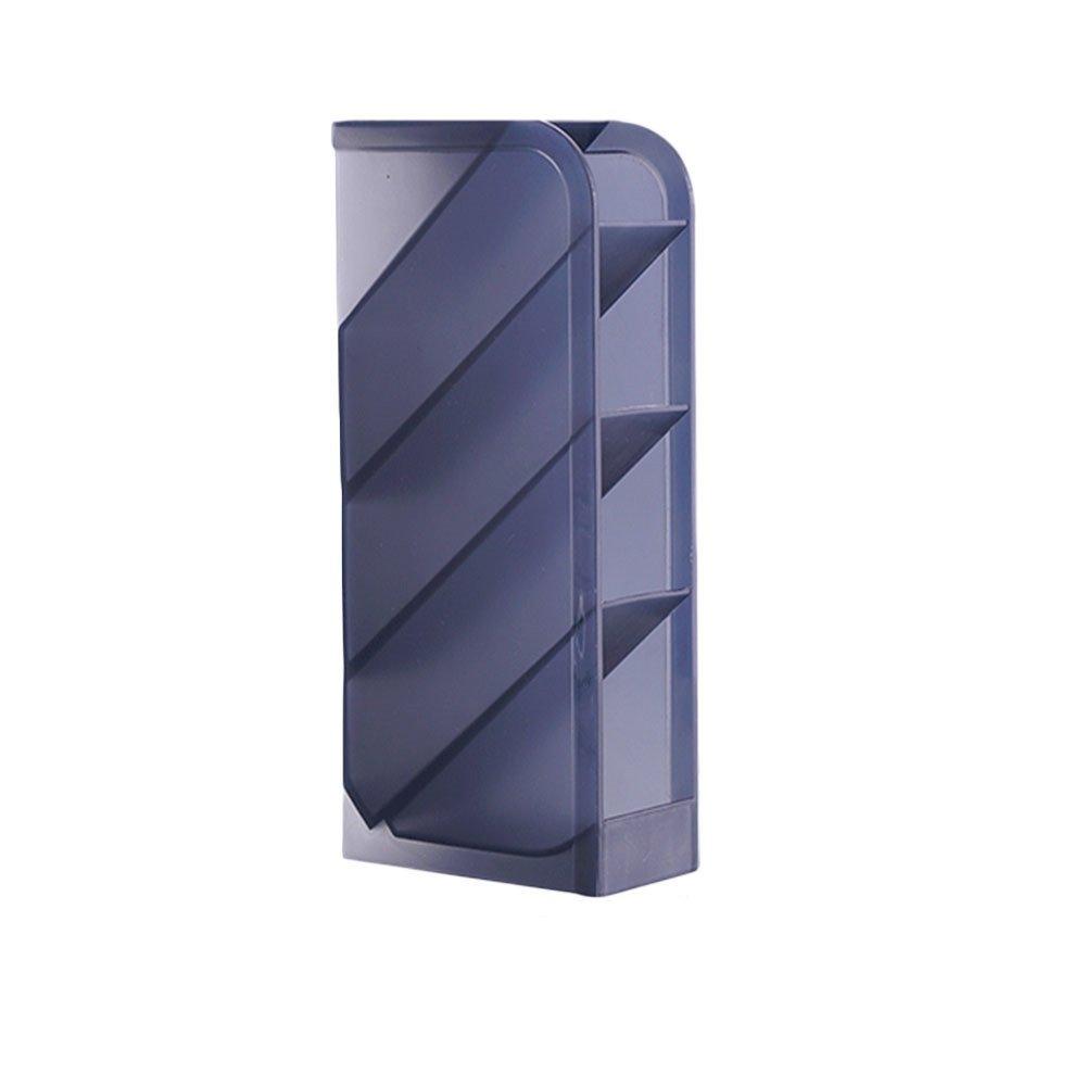Desk Organizer- Pen Caddy Organizer Storage for Office, School, Home Supplies, Pen Storage Holder (Black)