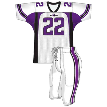 Newest model design customized American football jerseys, custom cheap american football uniforms in wholesale