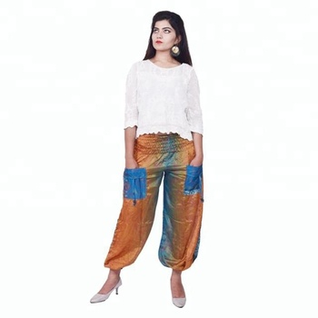 985b2a1902 Women's Baggy Harem Pants Indian Salwar Pants - Buy Lady Baggy ...