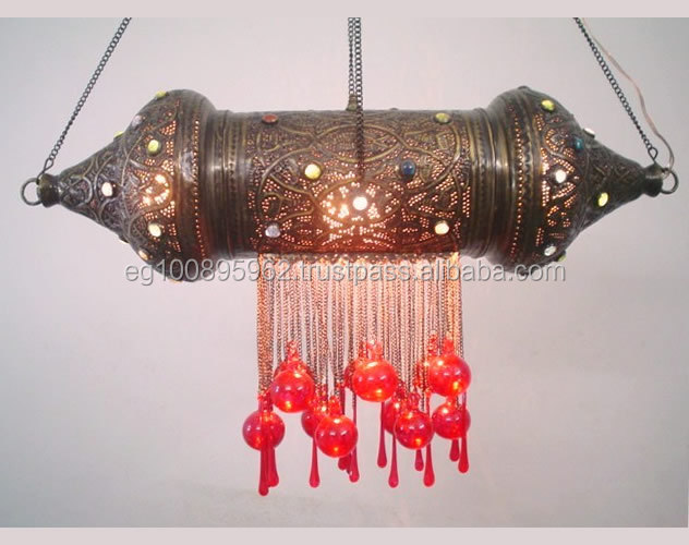 Br269 Antique Style Art Chandelier Pendant Lighting With Red Gl Tears Chandeliers Lights Drop
