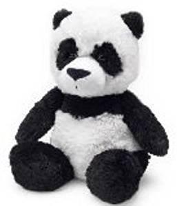 PANDA WARMIES Cozy Plush Heatable Lavender Scented Stuffed Animal