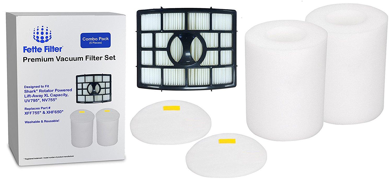 Washable Reusable Foam//Felt Filter Set For NV755 UV795 XFF755 Vacuum Cleaner New