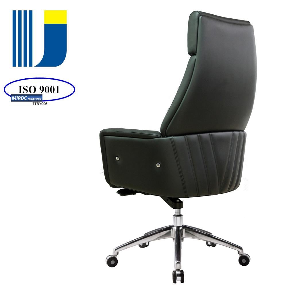 Modern executive high end office furniture comfort chair leather upholstery 1603akg